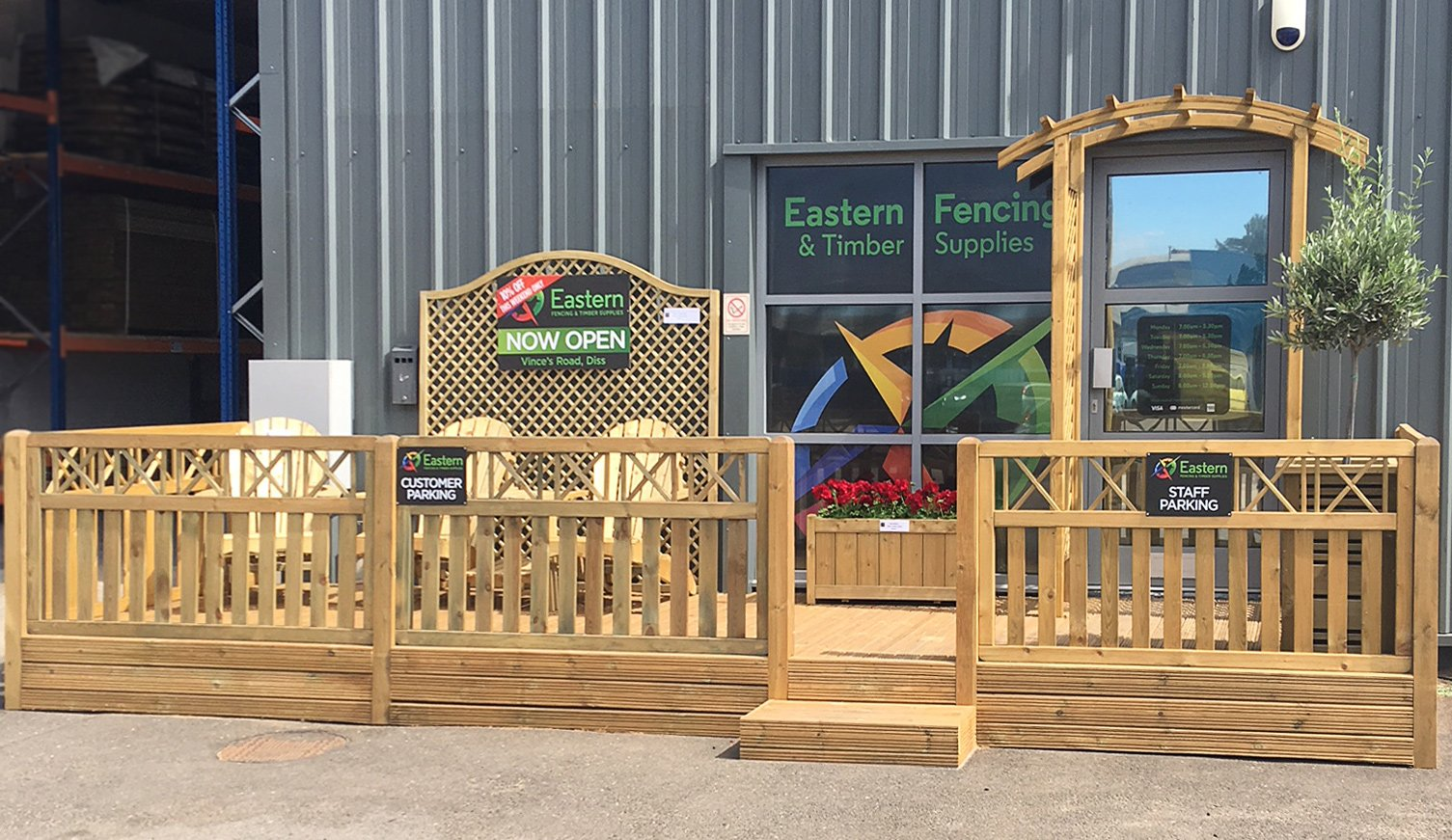 Eastern Fencing Amp Timber Supplies Ltd Courts Industrial